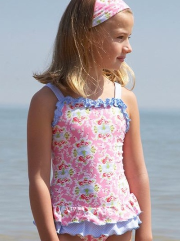 Mitty James Swimsuit - Pink & Blue Floral