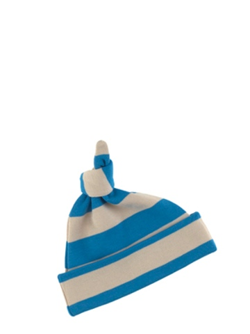 Bob and Blossom Sailor Blue & Sand Striped Hat