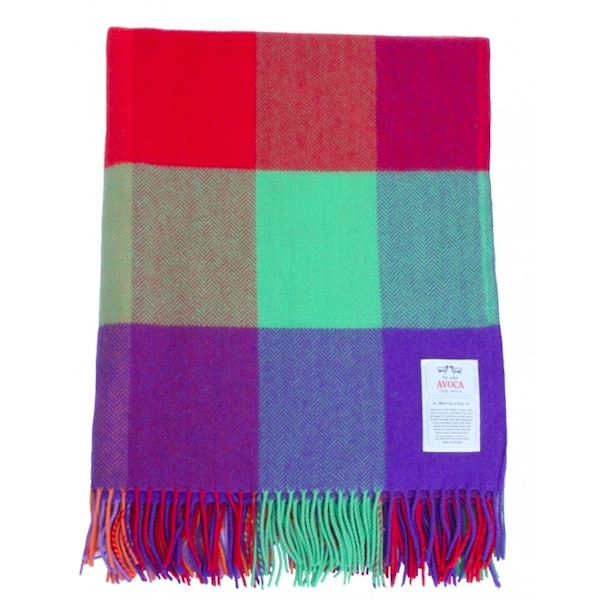 Avoca Carnival Cashmere Blend Throw