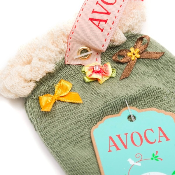 Avoca Sisi Knee Socks - Vetiver