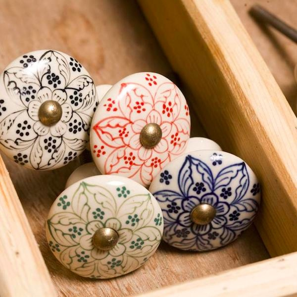 Daha Ceramic Cupboard Door Knob