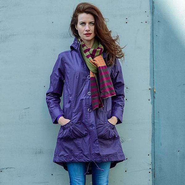 Avoca Dusty Parka - Grape