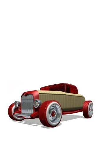 Automblox HR1 Mini Hot Rod - Red