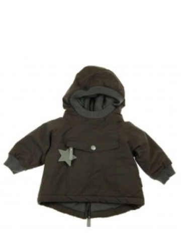 Mini a Ture Baby Wen Coat - Dark Coffee