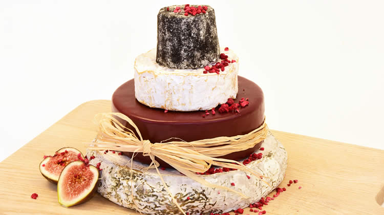 Cheese Wedding Cakes from Barley Sugar