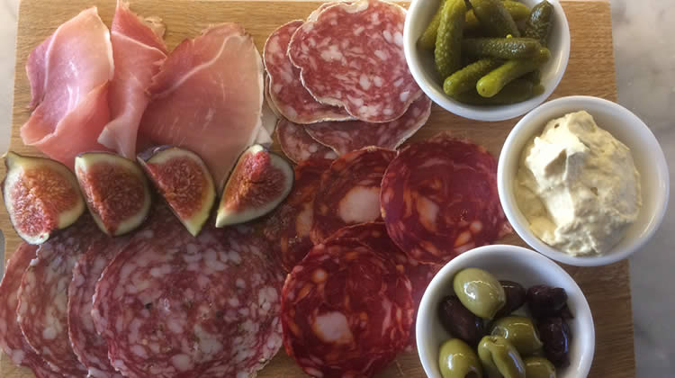 The Charcuterie at Barley Sugar