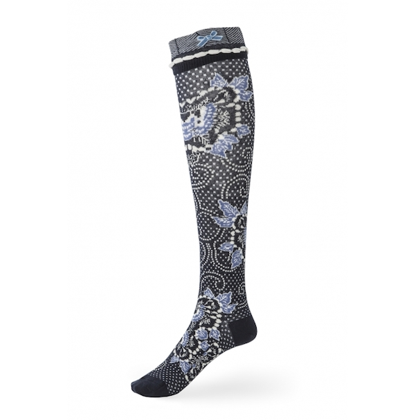 Avoca China Blue Socks