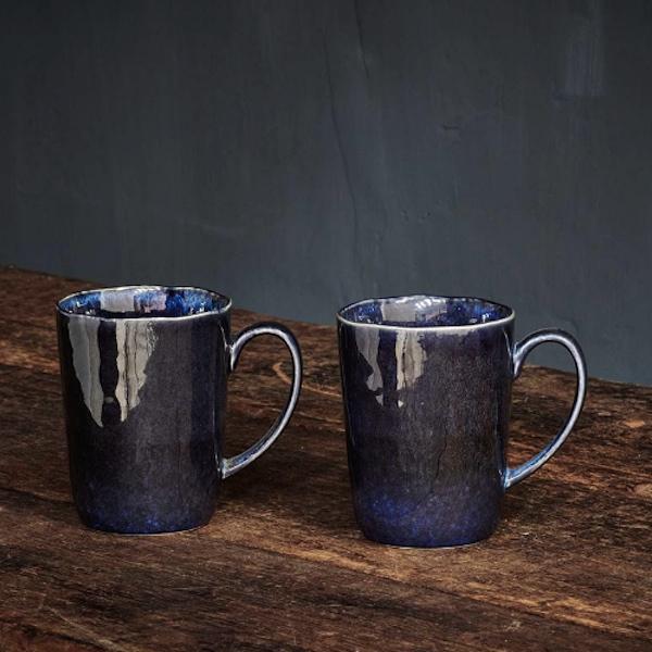 Dana Tall Mug - Indigo Blue
