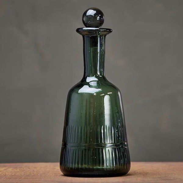 Mila Decanter - Dark Emerald