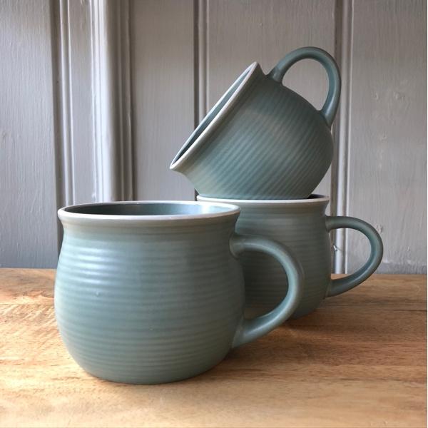 Stoneware Mug - Laurel Green