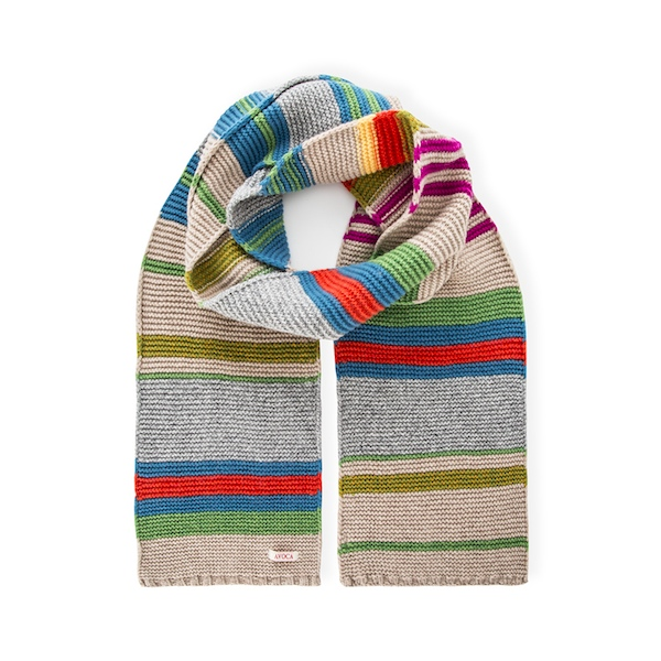 Avoca Ivy League Striped Scarf