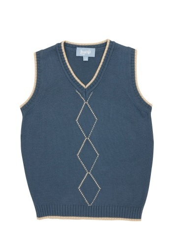 Little Legend Argyle Tank Top