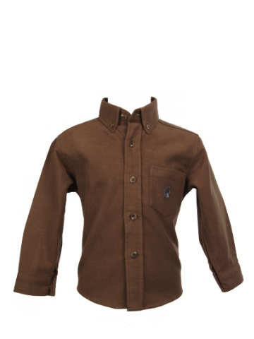Little Legend Brown Moleskin Shirt