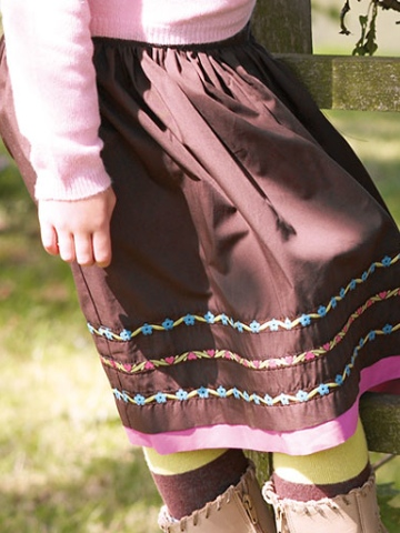 Little Legend Ribbon Skirt