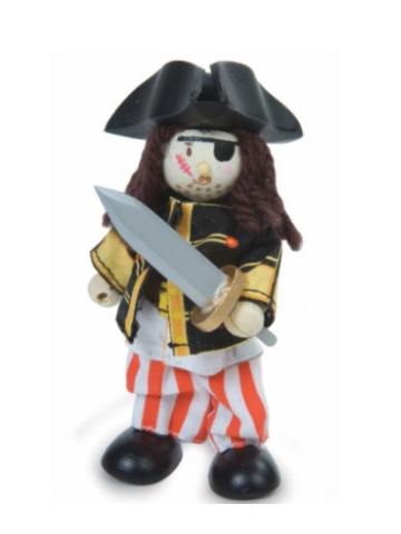 Le Toy Van Budkins Sammy the Pirate