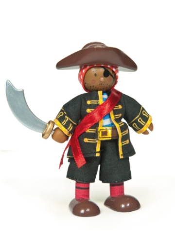 Le Toy Van Budkins Raphael the Pirate