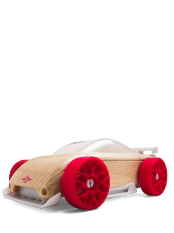 Automoblox Mini C9-R Sportscar Red & White