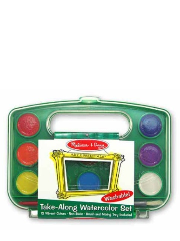 Melissa & Doug Take-along Watercolour Set