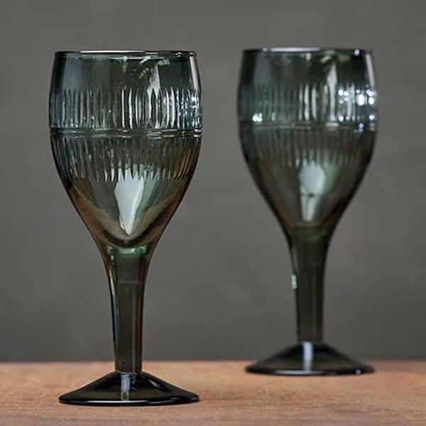 Mila Wine Glass - Emerald