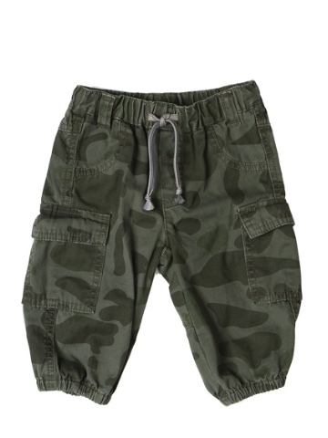 Mini a Ture Arn Baby Pants - Green Camouflage