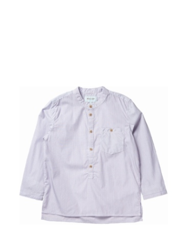 Mini a Ture Lai Baby Shirt - Grey