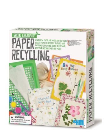 Green Creativity Paper Recycling Kit