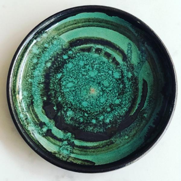 Studio Pottery Pin Dish