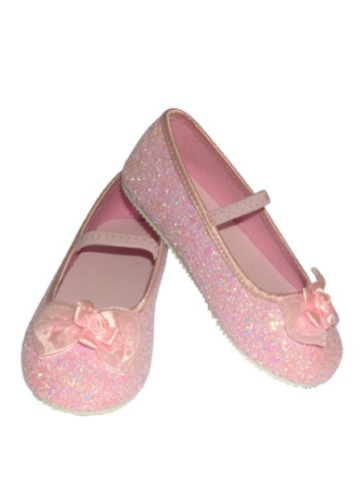 Pink Glitter Party Shoes