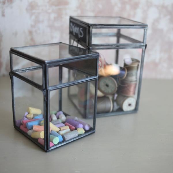 Nkuku Oni Chalk Board Storage Box
