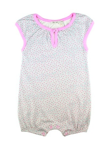 Lille Barn Daisy Print Beach Suit