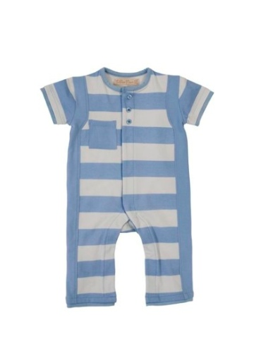 Toffee Moon Wide Striped Romper