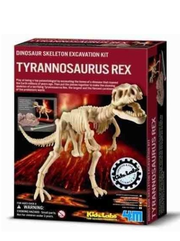 Kidz Labs T Rex Skeleton Excavation Kit