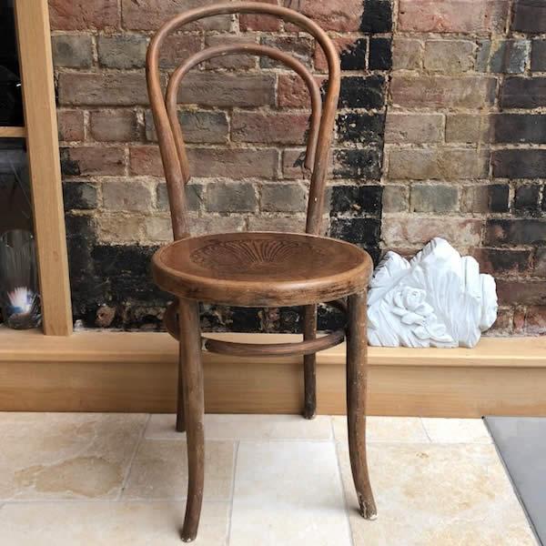 Vintage Fischel Bentwood Chair