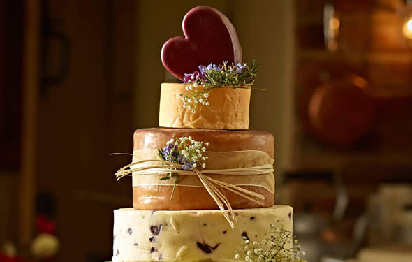 Cheese Wedding Cakes at Barley Sugar