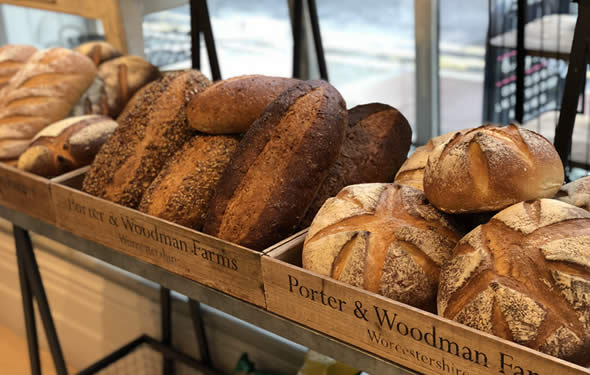 Artisan bread from Barley Sugar